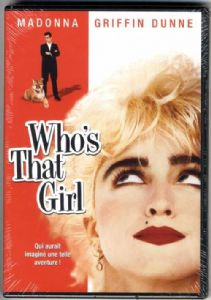WHO'S THAT GIRL(MOVIE) - OFFICIAL FRANCE DVD (SEALED)